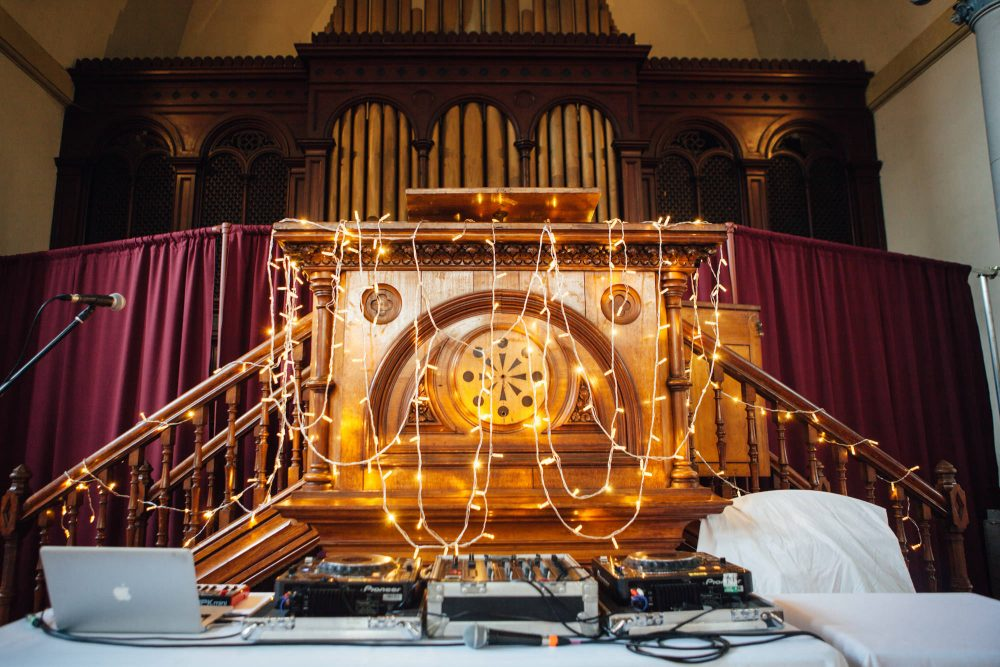 Hackney Round Chapel wedding photography