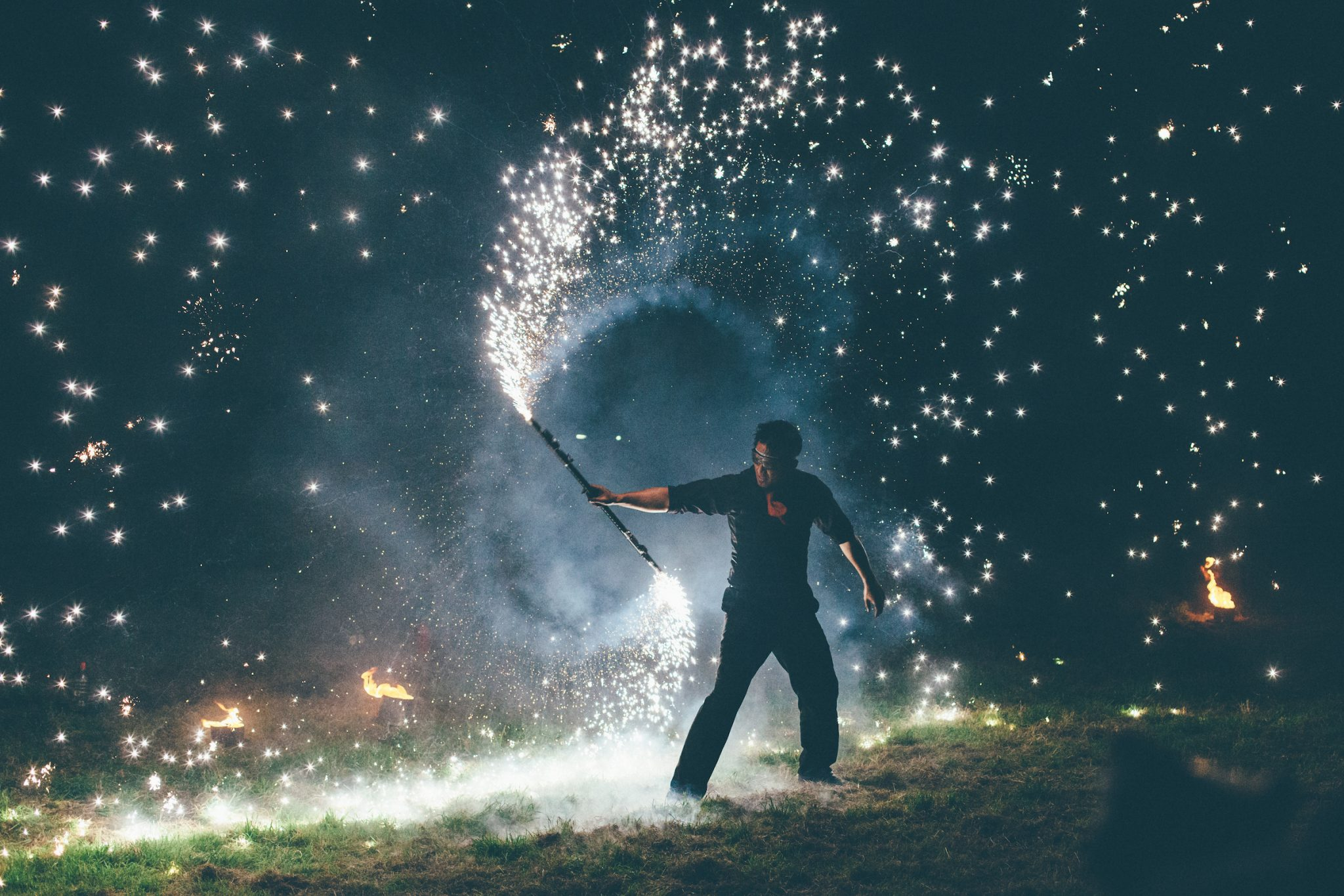 Fireworks display : Nottinghamshire festival wedding photographers