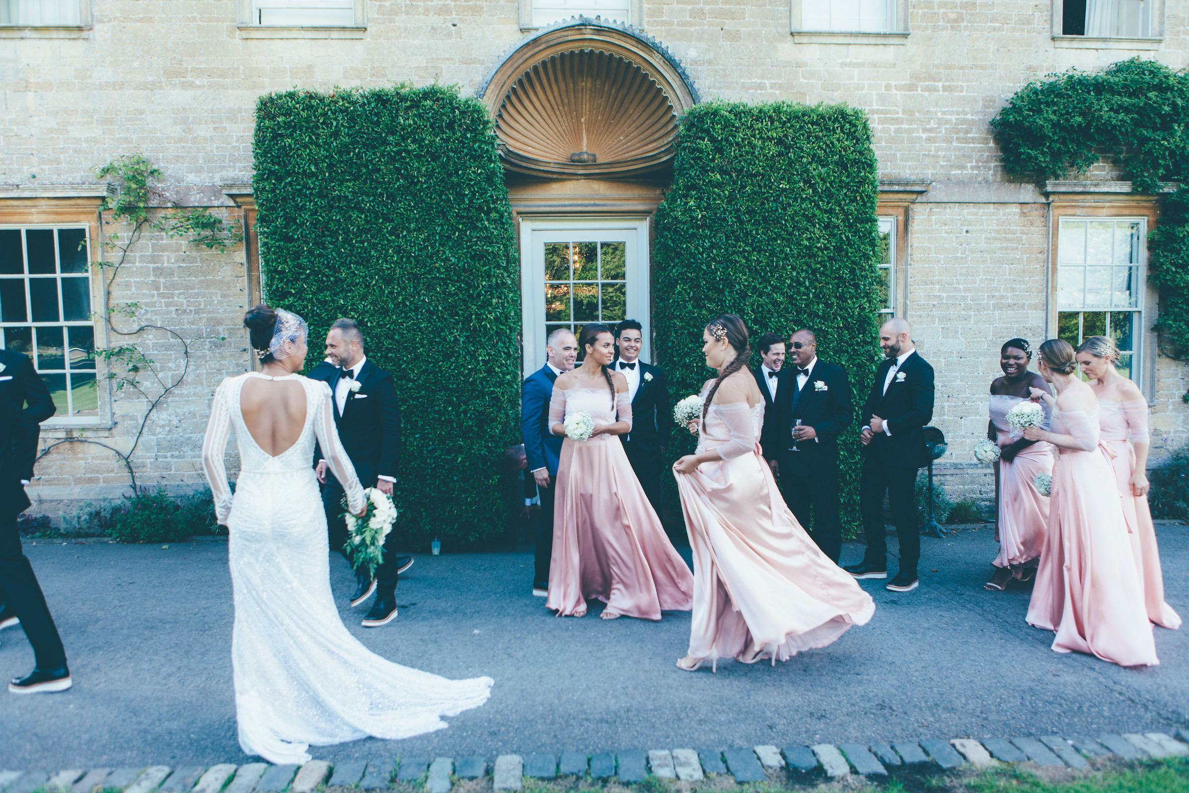 Somerset wedding photography at a Babington House wedding by September Pictures, London and Los Angeles