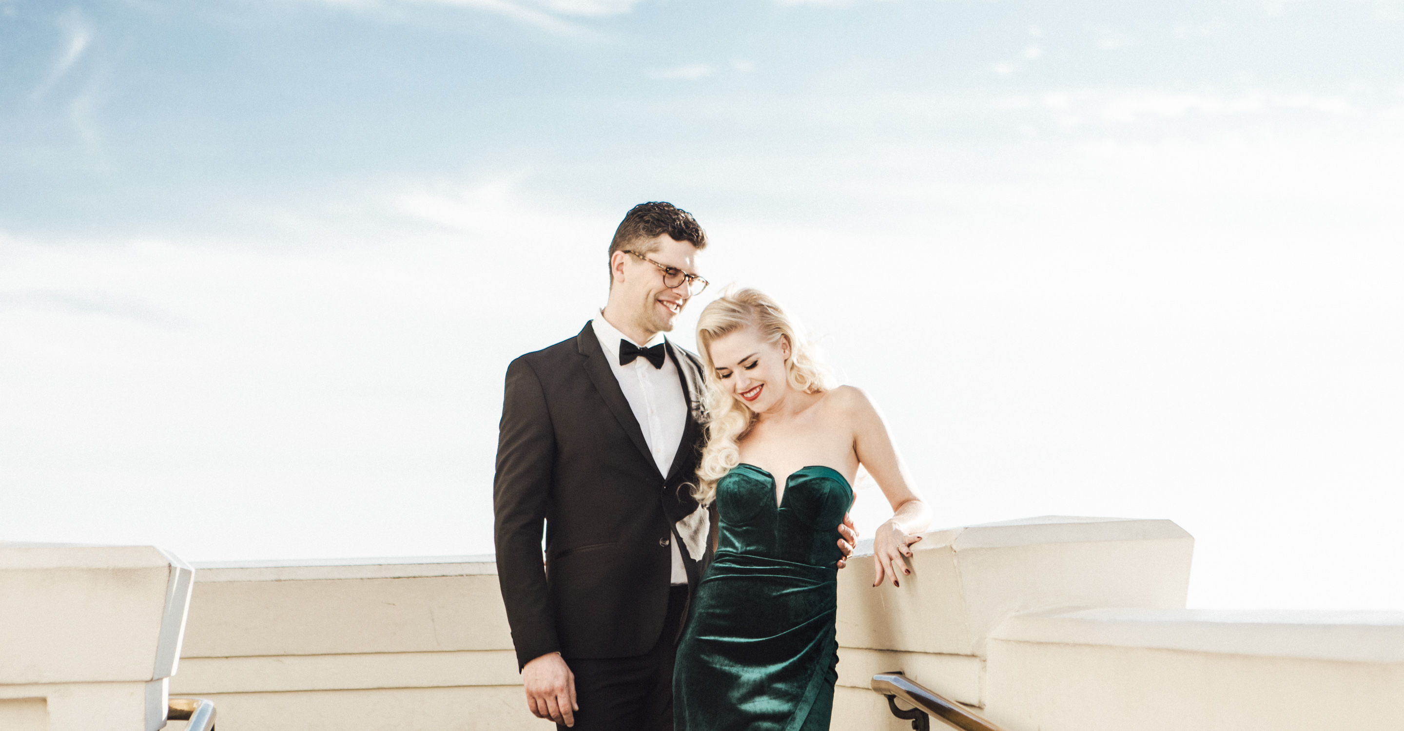Griffith Observatory engagement photos | Los Angeles portrait shoot