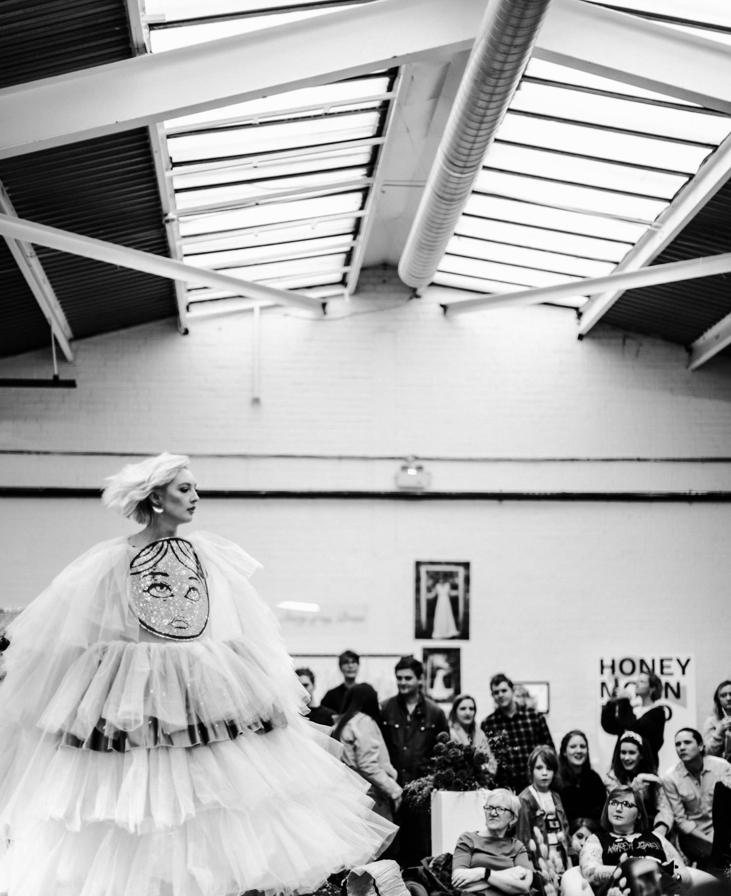 Alternative wedding dresses | Most Curious London catwalk photography
