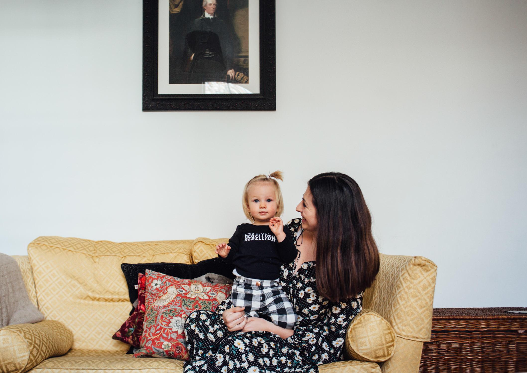London Fields family photography | Franki + Malala in East London | SP
