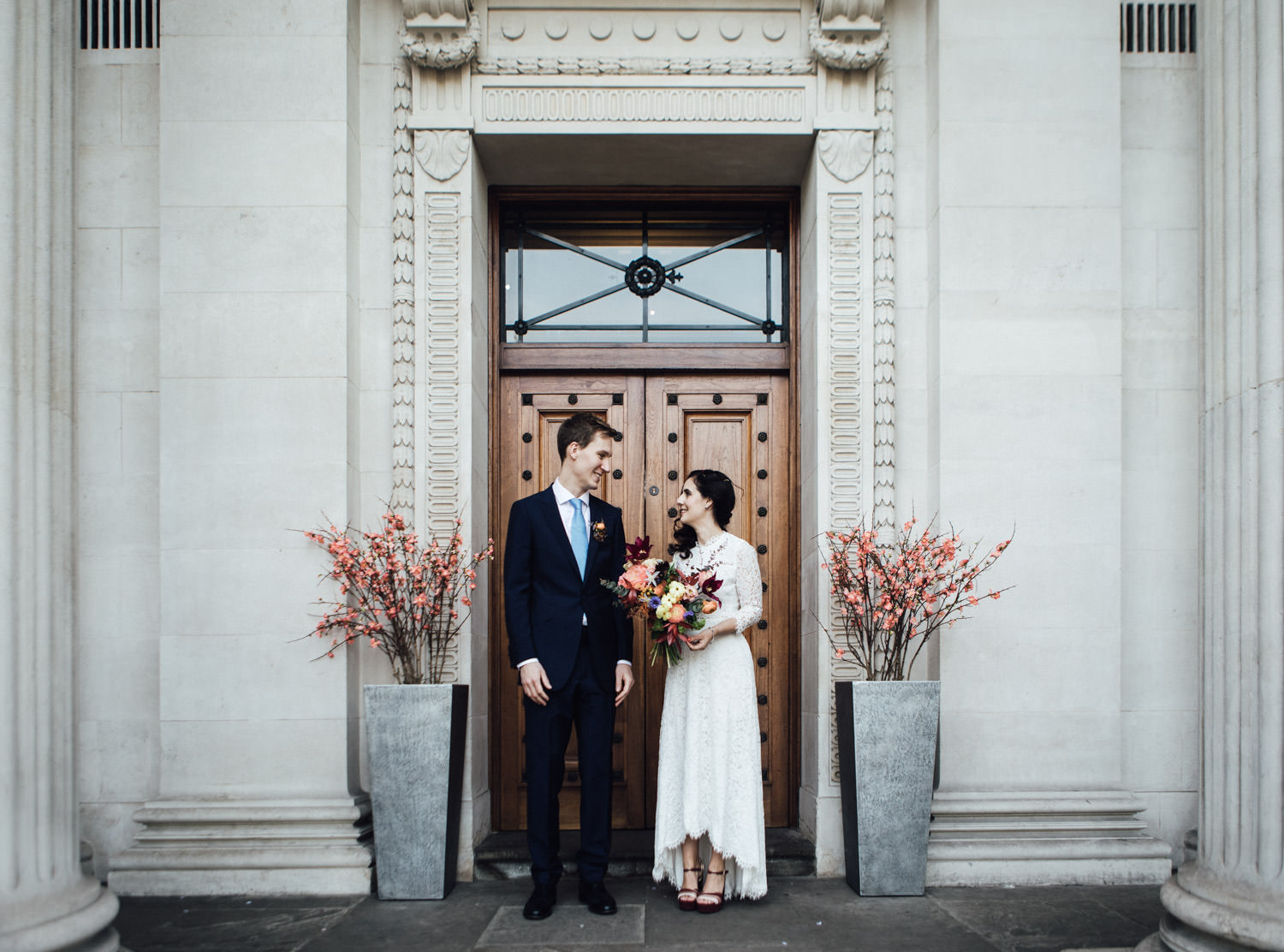 Marylebone elopement photography | London town hall wedding | SP
