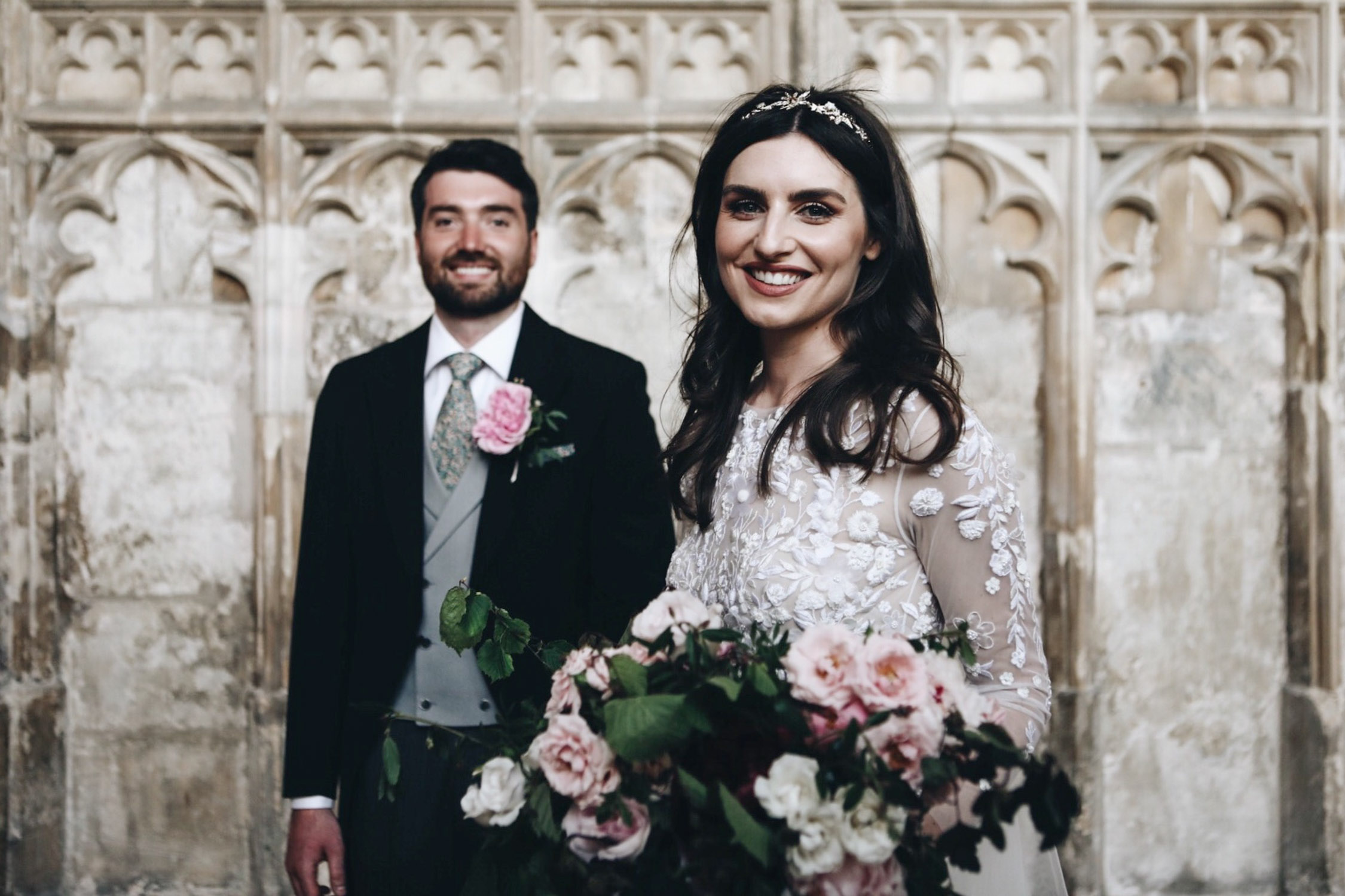 Gloucester Cathedral wedding photography | English country wedding