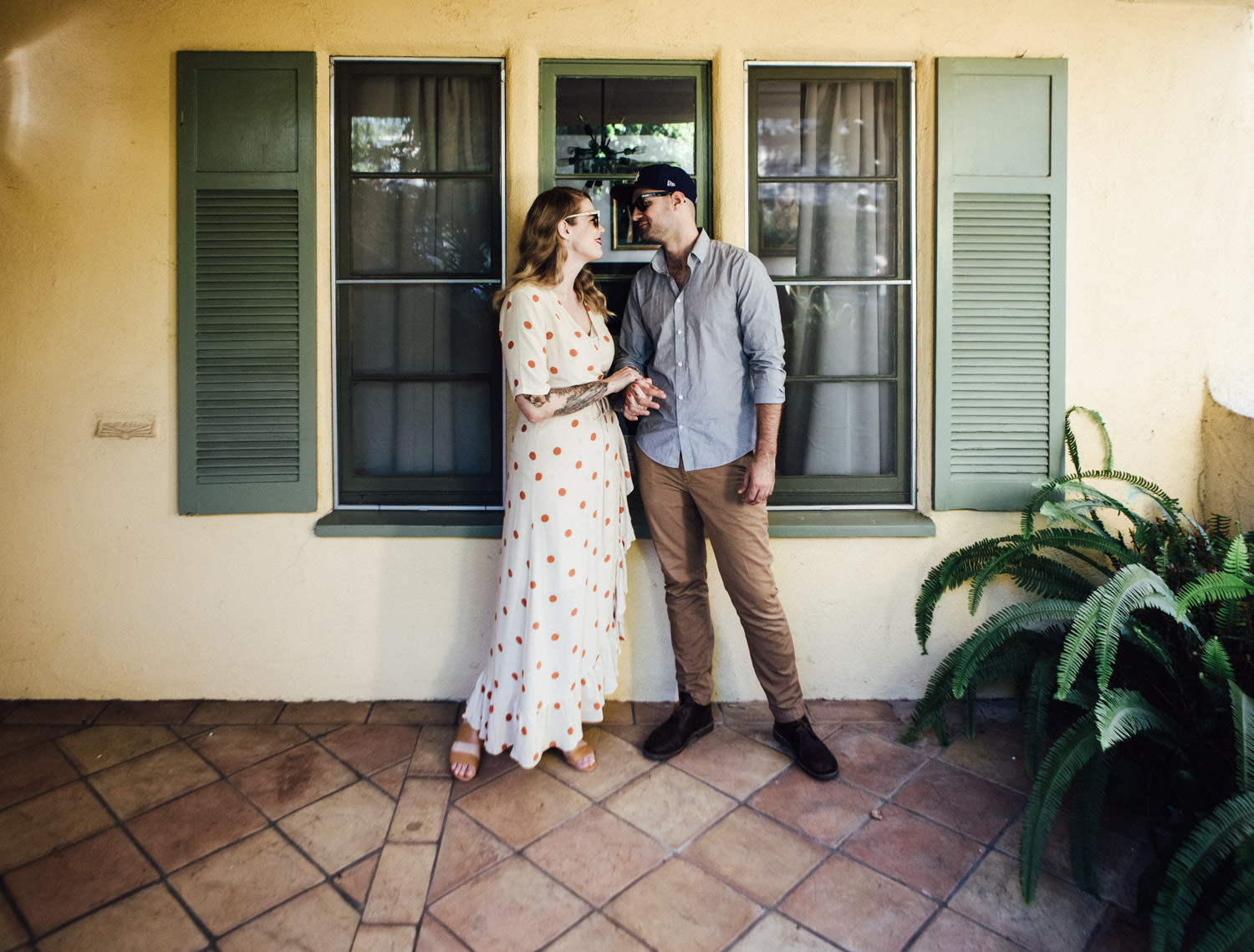 E & A's Los Angeles engagement shoot