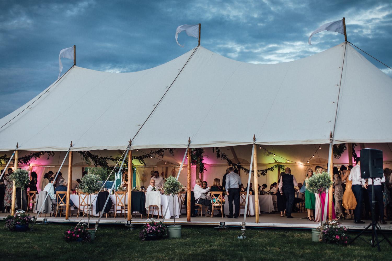 English countryside wedding photography | Luxury festival wedding
