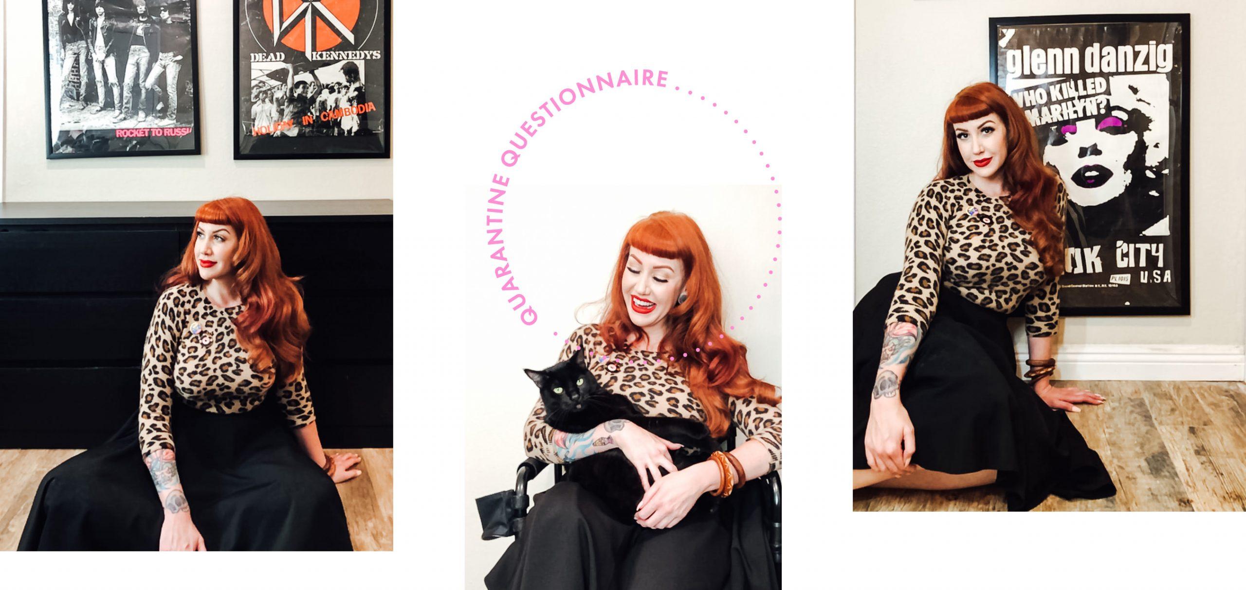 Nikki Napalm, SoCal make-up artist   Quarantine Questionnaire