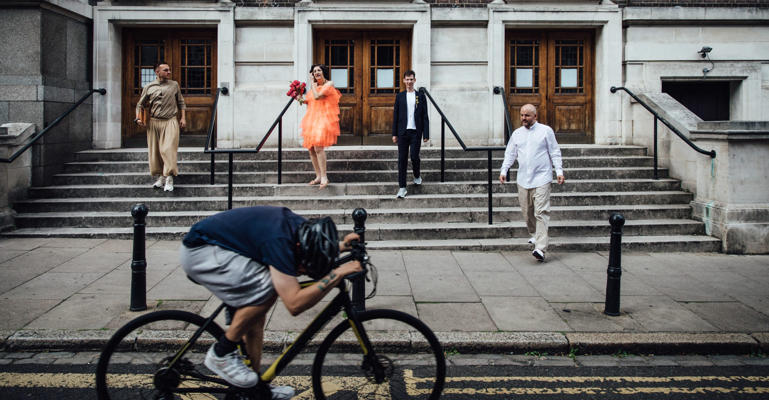 The first post-lockdown elopement, in London